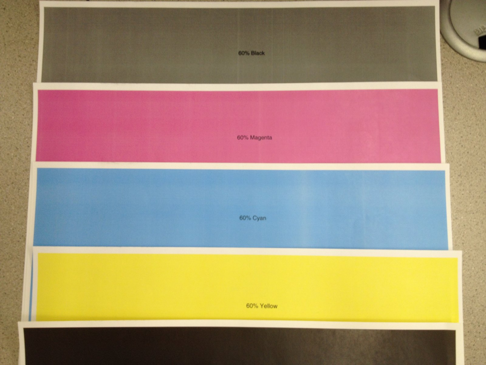 Xerox Docucolor 242 Streaks on all colors | Color Printing Forum