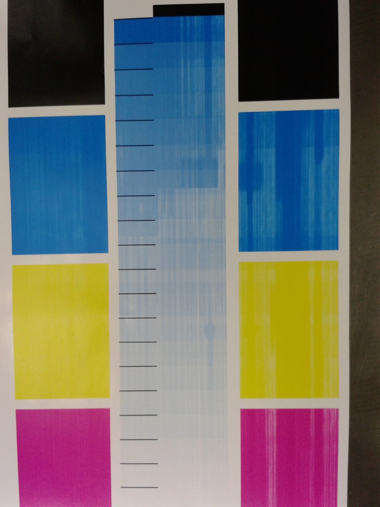 Banding and Streaking Issues | Color Printing Forum