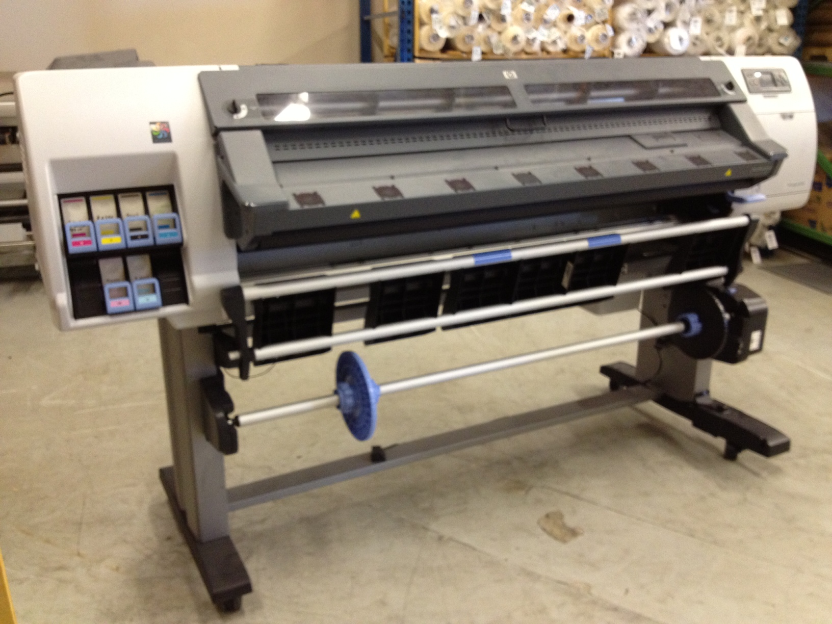 Used HP Latex L25500 60 Inch Year: 2011 + Rip (Onyx) For Sale