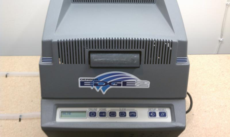 Gerber Edge 2 and Envision Cutter for sale | Color Printing